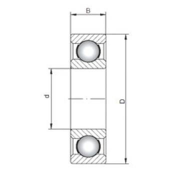 Rodamiento 16026 ISO