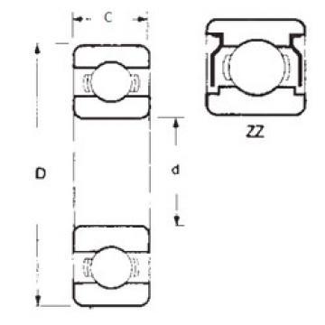 Rodamiento 6020ZZ FBJ