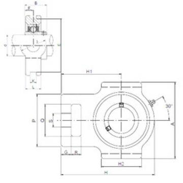 Rodamiento UCTX12 ISO