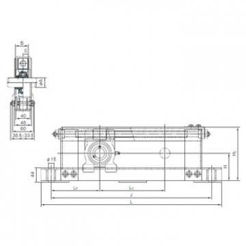 Rodamiento UCTL208+WL300 NACHI