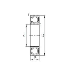 Rodamiento 6030-2RS CYSD