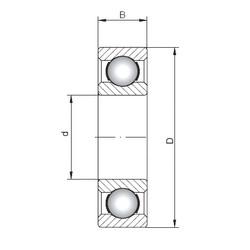 Rodamiento 16052 ISO