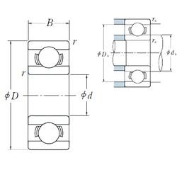 Rodamiento 602X ISO