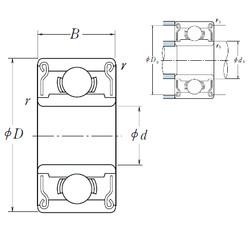 Rodamiento 602XZZ ISO