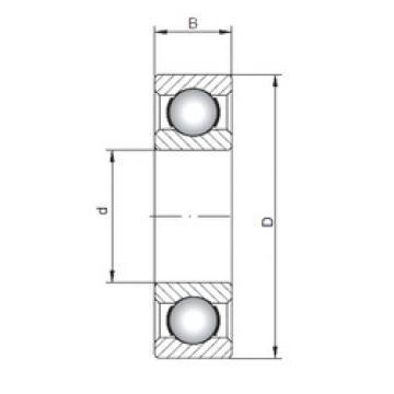 Rodamiento 16021 ISO