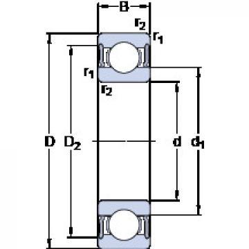 Rodamiento 6024-2RS1 SKF