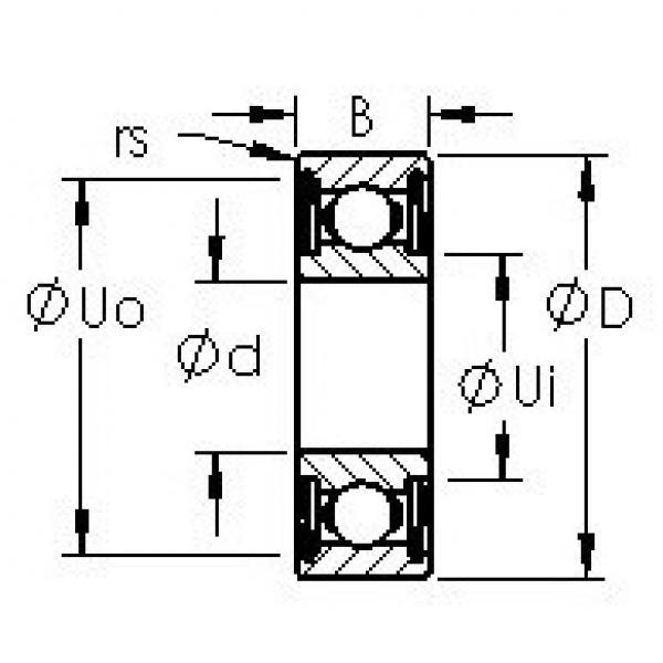 Rodamiento 602XHZZ AST #1 image